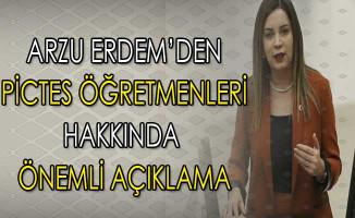 MHP'li Arzu Erdem PİCTES Öğretmenlerinin Sorunlarını Gündeme Getirdi