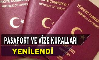 Pasaport Vize Kullanımlarında Yeni Kurallar Getirildi