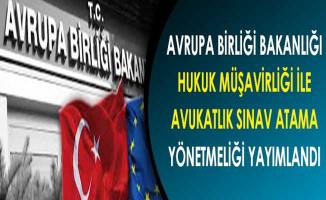 Avrupa Birliği Bakanlığı Hukuk Müşavirliği İle Avukatlık Sınav ve Atama Yönetmeliği Yayımlandı