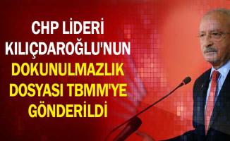 CHP Lideri Kılıçdaroğlu'nun Dokunulmazlık Dosyası TBMM'ye Gönderildi