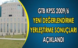 GTB KPSS 2009/6 Yeni Değerlendirmelerine Göre Yerleştirme Sonuçları Açıklandı