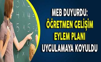 MEB Duyurdu: Öğretmen Gelişim Eylem Planı Uygulamaya Koyuldu