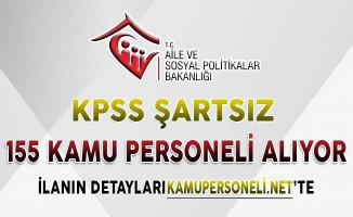 20 Sosyal Hizmet Merkezine 155 Kamu Personeli Alımı Başvurularında Son Gün ! KPSS Şartı Yok