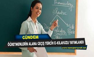 Anadolu Teknik/Meslek Programlarında Alana Geçiş Tercih ve Yerleştirme e-Kılavuzu Yayımlandı