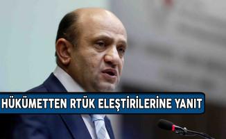 Başbakan Yardımcısı Işık'tan RTÜK Eleştirilerine Yanıt