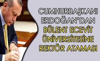 Cumhurbaşkanı Erdoğan Rektör Ataması Gerçekleştirdi