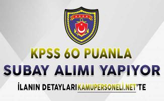 Deniz Kuvvetleri Komutanlığı Subay Alımı Yapıyor ! KPSS En Az 60 Puan İle