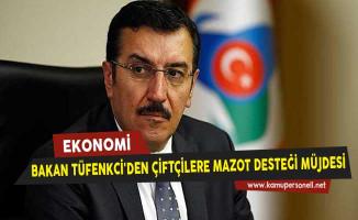 Gümrük Bakanı Tüfenkci'den Çiftçilere Mazot Desteği Müjdesi
