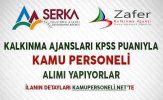 Kalkınma Ajansları KPSS Puanıyla Kamu Personeli Alımı Yapıyor