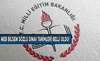 MEB BİLSEM Sözlü Sınav Tarihleri Belli Oldu!
