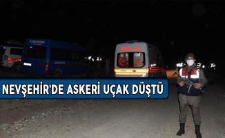 Nevşehir'in Gülşehir İlçesi'nde Askeri Uçak Düştü