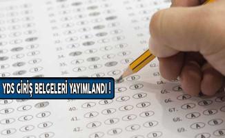 ÖSYM Yabancı Dil Bilgisi Seviye Tespit Sınavı (YDS) Giriş Belgeleri Yayımlandı!