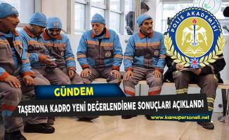 Polis Akademisi Taşerona Kadro Yeniden Değerlendirme Başvuru Sonuçları Açıklandı