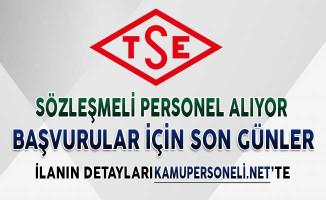 TSE Sözleşmeli Kamu Personeli Alımı Yapıyor ! Başvurularda Son Günler