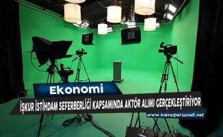 Türkiye İş Kurumu İstihdam Seferberliği Kapsamında Aktör Alımı Gerçekleştiriyor
