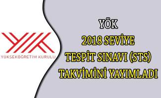 YÖK 2018 Seviye Tespit Sınavı (STS) Takvimini Yayımladı
