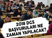 Adaylar 2018 Dikey Geçiş Sınavına (DGS) Başvuruları Ne Zaman Yapacaklar?