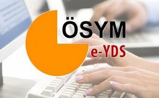 e-YDS 2018 Sonuçları ÖSYM Tarafından Açıklandı