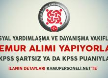 SYDV'ler KPSS Şartsız ya da KPSS Puanıyla Memur Alımı Yapıyorlar