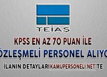 TEİAŞ Genel Müdürlüğü Sözleşmeli Personel Alım İlanı Yayımlandı