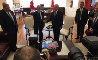 Temel Karamollaoğlu CHP Lideri Kılıçdaroğlu'nu Ziyaret Etti