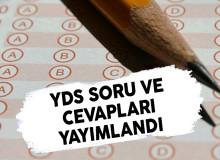 YDS Soru ve Cevapları ÖSYM Tarafından Yayımlandı