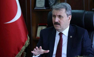 Mustafa Destici AK Parti Genel Merkezi'ne Ziyarette Bulundu