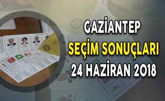 2018 Gaziantep Cumhurbaşkanlığı Seçim Sonuçları: Gaziantep Seçim Sonuçları ve Oy Oranları 24 Haziran