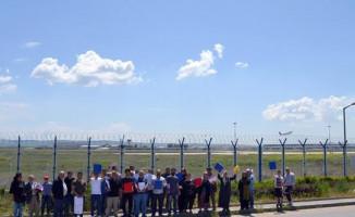 """Ankara 'da Bir Garip Dava """"Esenboğa Havalimanı Bizim Davası"""""""