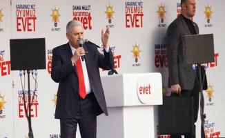 Başbakan Yıldırım: Millet İttifakının Gizli Bir Ortağı Var