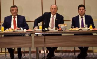 CHP'nin Cumhurbaşkanı Adayı İnce Başkan Yardımcılarını Açıkladı!