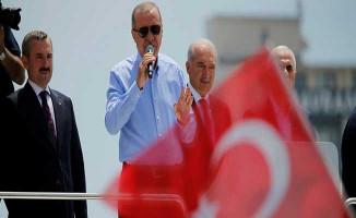 Cumhurbaşkanı Erdoğan'dan Seçim Sonuçları Hakkında Açıklama: Milletimiz Şahsımıza Yetkiyi Verdi