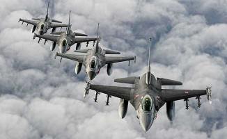 F-16'lar Terör Örgütü DEAŞ'ın Liderler Toplantısını Vurdu !