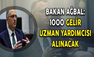 Naci Ağbal Açıkladı: 1000 Gelir Uzman Yardımcısı (GUY) Alımı Yapılacak