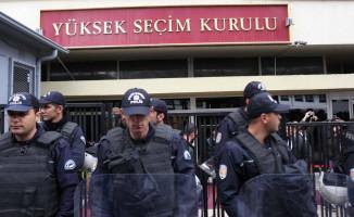 Yüksek Seçim Kurulu'nda Yoğun Güvenlik Önlemi Alındı!