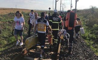 Tekirdağ Çorlu'da Tren Kazası! Çok Sayıda Ölü ve Yaralı Var