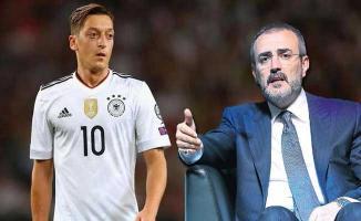 Almanya Milli Takımını Bırakan Mesut Özil'e AK Parti'den Destek
