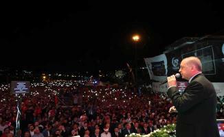 Cumhurbaşkanı Erdoğan 15 Temmuz Töreninde Konuştu 'Zaferin Sahibi 81 Milyondur'