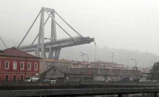 İtalya'da Köprü Faciası ! Çok Sayıda Kişi Hayatını Kaybetti
