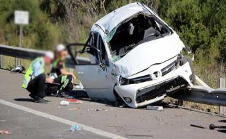 Tatilin İlk Gününde Kaza Bilançosu Belli Oldu ! Çok Sayıda Ölü Var