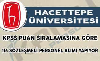 Hacettepe Üniversitesi 116 Sözleşmeli Personel Alımı Yapıyor