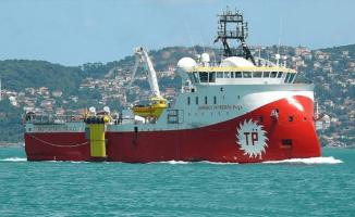 Barbaros Hayrettin Paşa Gemisi Akdeniz'de Araştırmalara Başladı ! Dışişlerinden Açıklama Geldi