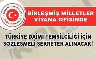 Dışişleri Bakanlığı Sözleşmeli Sekreter Alımı İçin DPB'de Yeni İlan Yayımlandı!