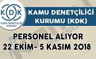 Kamu Denetçiliği Kurumu (KDK) Personel Alım İlanı Yayınladı!