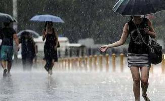 Marmara İçin Meteoroloji'den Önemli Sağanak Yağış Uyarısı