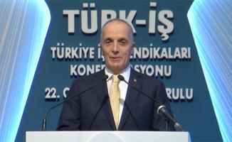 Türk İş Başkanı Turan: Asgari Ücret 2000 TL'nin Üzerinde Olmalıdır