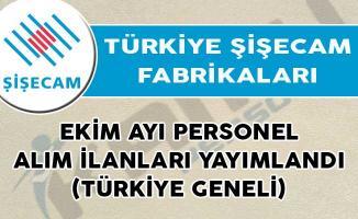 Türkiye Şişecam Fabrikaları Ekim Ayı Personel Alım İlanları Yayımlandı! (Türkiye Geneli)