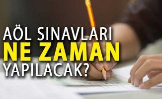 2018 AÖL Sınavları Ne Zaman Yapılacak? İşte MEB Takvimi