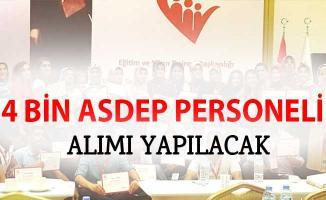 4 Bin ASDEP Personeli Alımı Yapılacak! İlanın 2018 Sona Ermeden Yayımlanması Bekleniyor