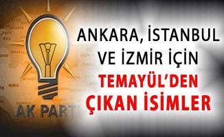 AK Parti Temayül Yoklamasının Sonuçları Belli Oldu ! İşte Ankara İstanbul ve İzmir İçin Çıkan İsimler